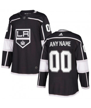 Personalized Men's Los Angeles Kings Authentic Black Home Jersey